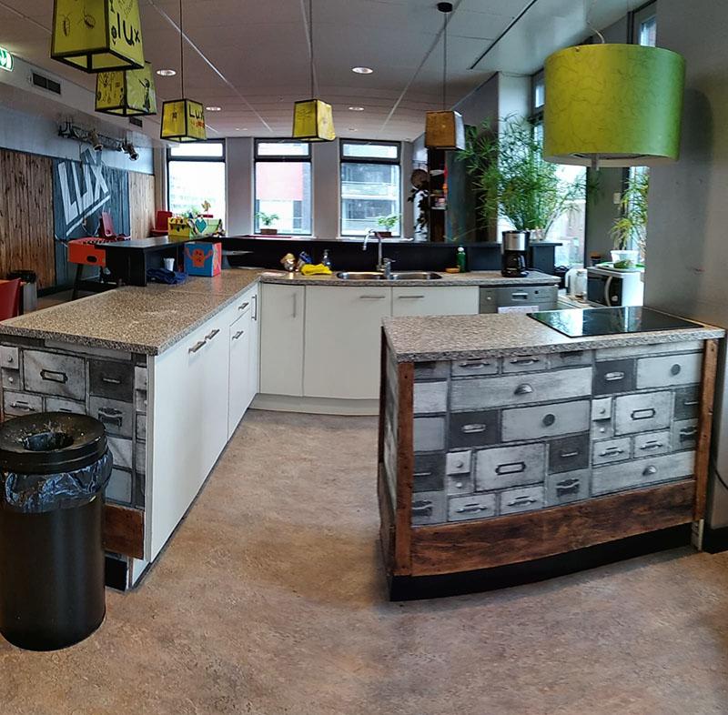keuken in activiteitenruimte LUX
